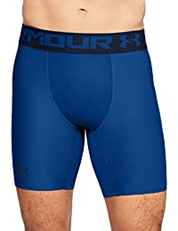 Under Armour Heatgear Armour 2.0 Comp Shorts Pantalón Corto, Hombre, Azul (Royal/Academy 401), L