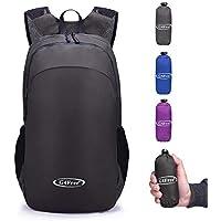 G4Free Foldable Ultralight Rucksack Tear   Water Resistant Portable Backpack  School Daypacks for Outdoor Walking e4dd8360e9d6d
