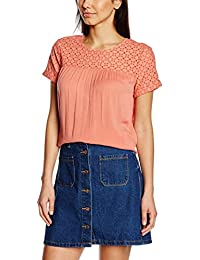 TOM TAILOR Denim Damen Bluse Material Mixed Feminine Blouse