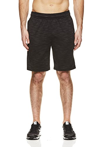 HEAD-Mens-All-Heart-Mesh-Workout-Gym-Running-Shorts-wElastic-Waistband-Drawstring