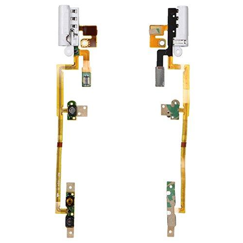 Nano Flex Ipod (BisLinks® Weiß Handsfree Audio Jack Volume Taste Flex Kabel Für iPod Nano 6 6th Gen)