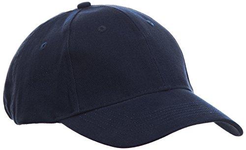 Brushed Twill Hat (anvil Herren Twill Cap 6 Panel / 136, Gr. one size, Blau (NAV-Navy))