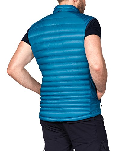 Jack Wolfskin Doudoune courte pour Atmosphere Flex Vest M Dark Turquoise