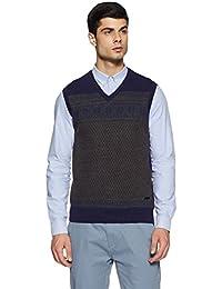 Louis Philippe Men's Woollen Sweater