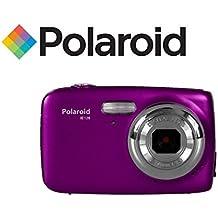 Camara digital ultracompacta Polaroid IE126 de 18 megapixeles (morada)
