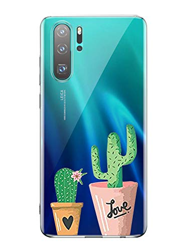 Oihxse Transparente Silicona Case Compatible Huawei