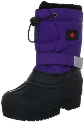 Canadians 467 092, Unisex - Kinder Stiefel, Schwarz (schwarz lila 092), EU 24