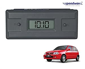 Speedwav Custom Fit Car Dashboard Clock-Maruti Zen Old