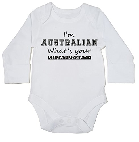 hippowarehouse-im-australian-whats-your-superpower-baby-bodysuit-long-sleeve-boys-girls