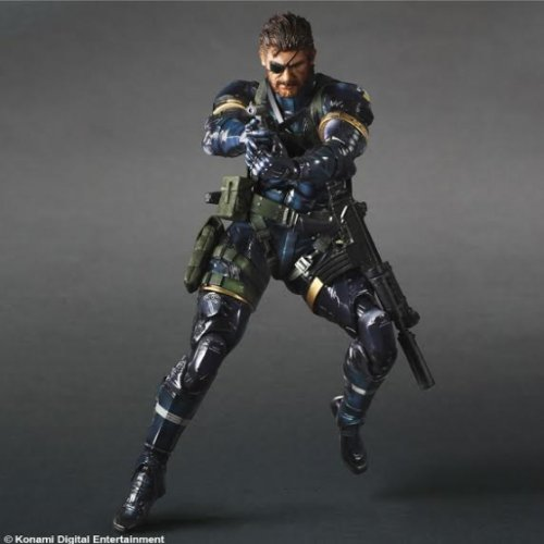 Metal Gear Solid V Ground Zeroes Play Arts Kai Schlange (Solid Snake Play Arts)