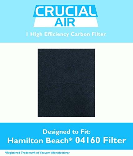 Hamilton Beach TrueAir 04160 04161 Luftreiniger, Kohlefilter, im Vergleich zu Teil #04922 &Design, entworfen von Crucial