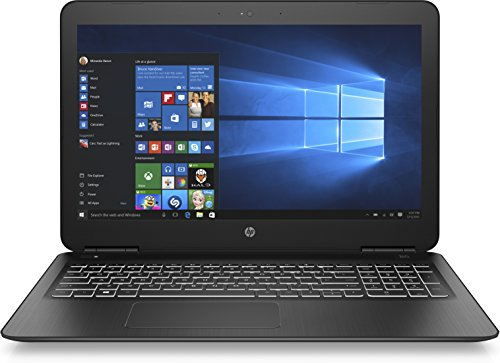 HP Pavilion Notebook 15-bc300ng (15,6 Zoll / Full HD) Laptop (Intel Core i5-7200U, 1 TB HDD, 128 GB SSD, 8 GB RAM, Nvidia GeForce GTX 950M 4 GB, Windows 10 Home) schwarz