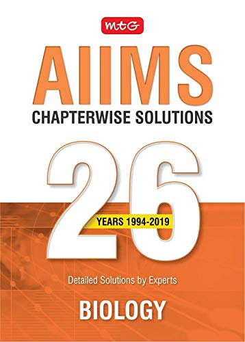 26 Years AIIMS Chapterwise  Solutions - Biology