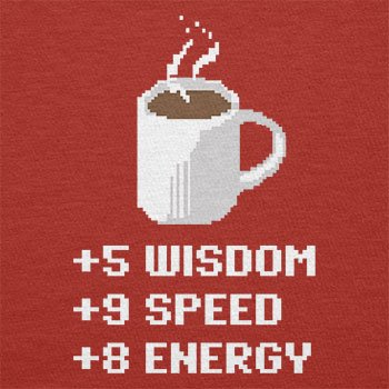 TEXLAB - Wisdom Speed Energy - Herren T-Shirt Rot