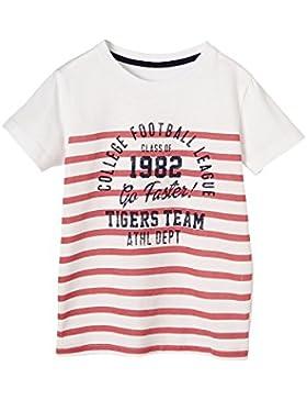 VERTBAUDET Camiseta Niño a Rayas y Estampada