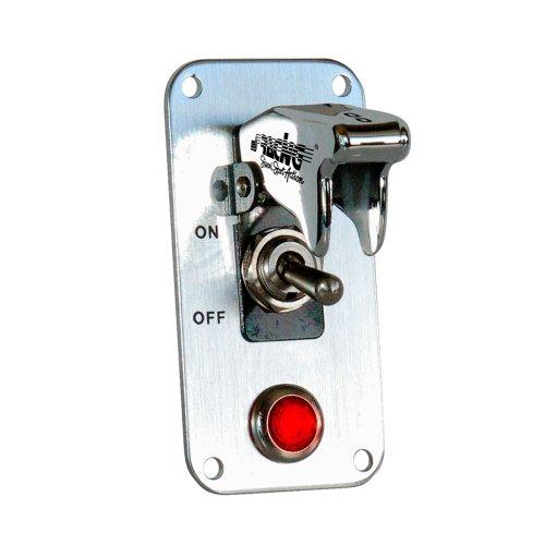 Simoni Racing ISR/3X-L Tableau 1 Interrupteur et 1 lumière Rouge, 12 V 20 A