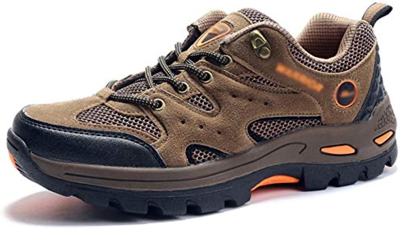 Hombres Senderismo Caminar Zapatos De Escalada Trekking Deportes Zapatillas Calzado Impermeable Adecuado para