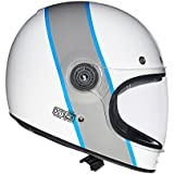 Royal Enfield Drifter-Ice Queen HESS18002 Full Face Helmet (White, L)