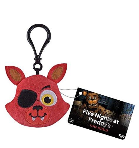 Funko cinque notti Freddy della volpe peluche portachiavi figura