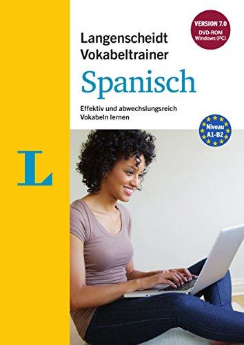 Langenscheidt Vokabeltrainer 7.0 Spanisch - DVD-ROM: Effektiv und abwechslungsreich Vokabeln lernen,...