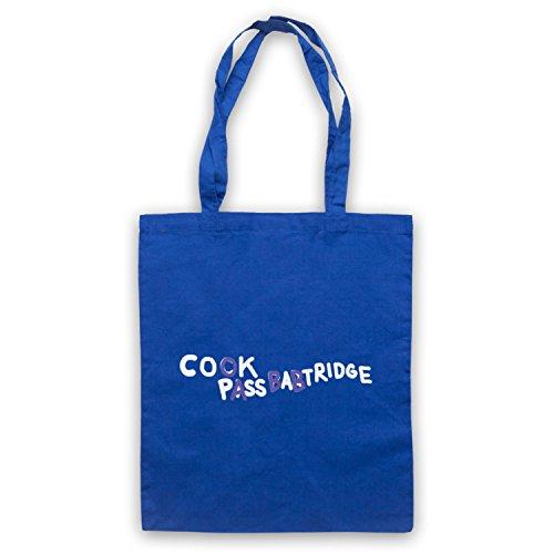 Inspiriert durch Alan Partridge Cook Pass Babtridge Cock Piss Partridge Car Graffiti Inoffiziell Umhangetaschen Blau
