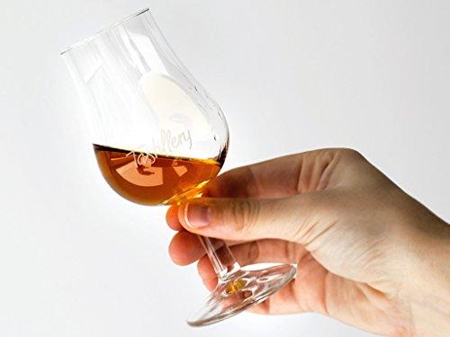 Tastillery Tasting Glas Profi | 6er Set Gläser | 130ml | Spülmaschinenfest | hochwertige Qualität | Glass | Glas