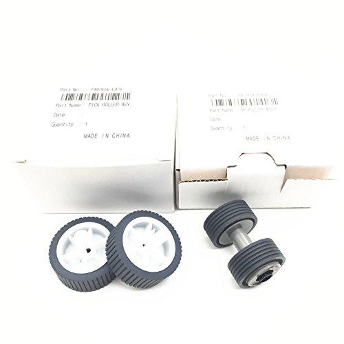5Set X oklili PA03656-0001Pa03656-e958Pa03656-e976Bremse Roller Pick Roller-Set für Tonabnehmer Fujitsu ScanSnap iX500