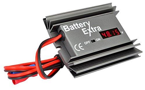 Rigeneratore con desolfatore specificamente progettato per batterie a 12 V per camper, barche, automobili e camionAdatto per batterie fino a 250 Ah. -