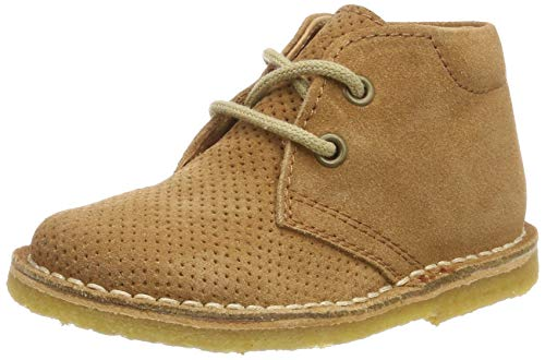 Cocomma aps Unisex Baby 30201.119 Sneaker, Braun Camel Suede 503-1, 25 EU