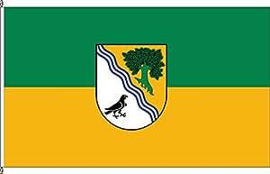 Flagge Fahne Autoflagge Neißeaue * - 30 x 45cm