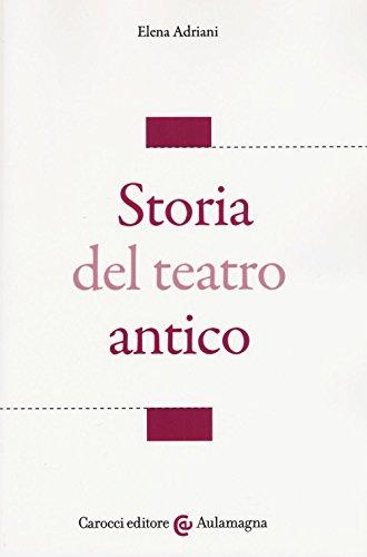 Storia del teatro antico