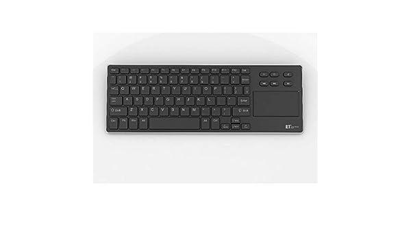 ERKEJI Tastatur Funktastatur 2,4 G Mini Wireless Tastatur