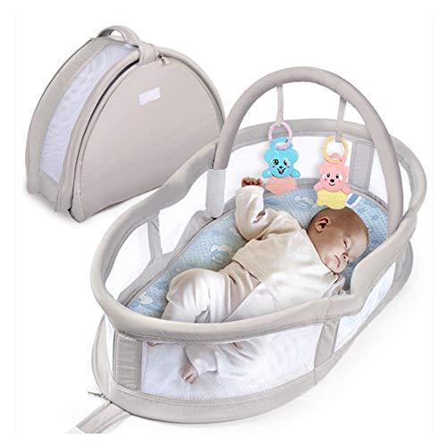 Canasta Para Bebe Recien Nacido.Qetu Cama Portatil Para Bebes Recien Nacidos Mochila