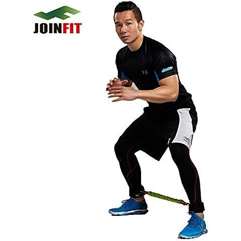Lateral Resistor Pro Forza Trainer di velocità e agilità Formazione Kit per atleti–Stretching Allenamenti, 25 pounds