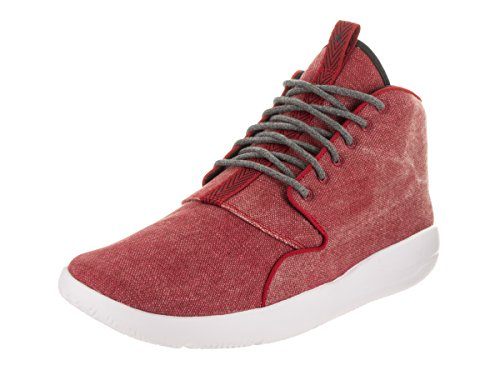 Nike Mens Eclipse Chukka Textile Trainers Blanc-Rouge
