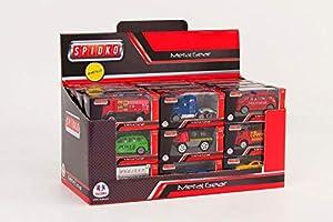 Globo Toys Globo - 35577 26, Juguete en una caja para vehículos de fundición a presión Spidko (1 pieza)