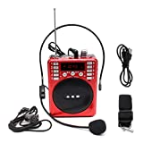 Werst Portable Voice Amplifier Loudspeaker FM Radio TF MP3 Player For Teacher Training