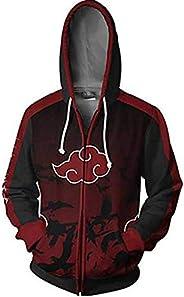 Naruto 3D Digital Print Japanese Anime Hoodie Sweatshirt jacket coat