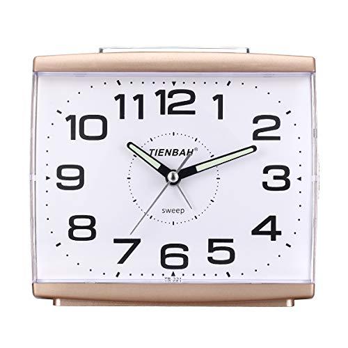 Ayybboo Reloj Despertador Analógico