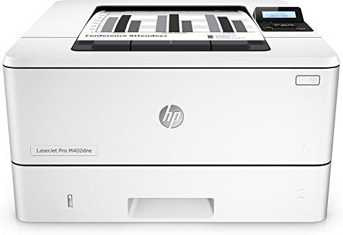 Produktbild HP LaserJet Pro M402dne C5J91A#B19 Laserdrucker (Drucker, LAN, Duplex, JetIntelligence, Apple Airprint) weiß