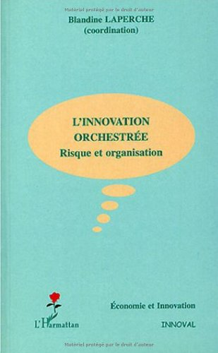 L'innovation orchestrée : Risque et organisation par Blandine Laperche, Collectif