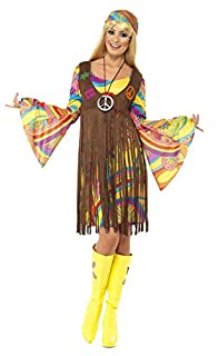 Smiffys Femme groove des années 60, avec robe, gilet imprimé et bandeau (B00AZGDSLW) | Amazon price tracker / tracking, Amazon price history charts, Amazon price watches, Amazon price drop alerts