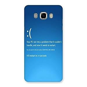 NEO WORLD Restart Back Case Cover for Samsung Galaxy J7 2016