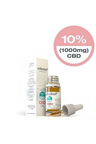*Cibdol CBD Öl 10% (1000mg) 10ml – Bestes CBD Öl aus der Schweiz*