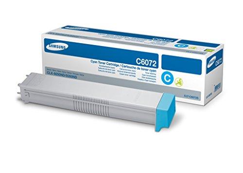 Preisvergleich Produktbild Samsung CLT-C6072S/ELS Original Toner (Hohe Reichweite, Kompatibel mit: CLX-9250ND/CLX-9252NA, CLX-9350ND/CLX-9352NA) cyan