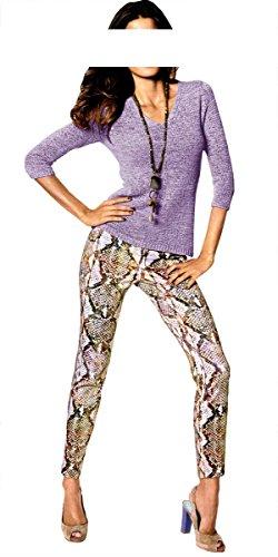 Heine - Pull - Opaque - Femme Violet - Lilas