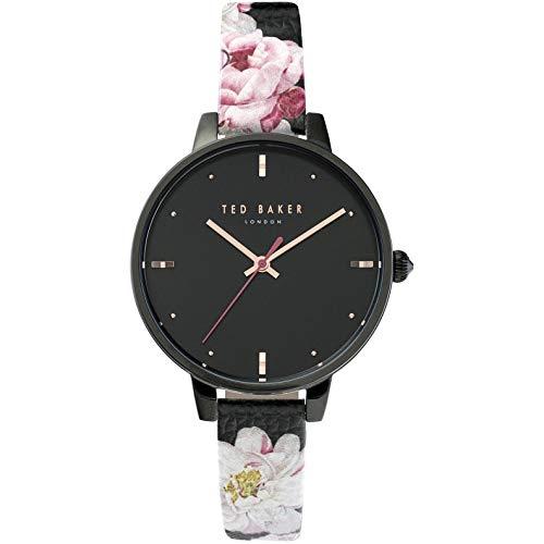 Ted Baker Hamilton Reloj de Mujer Cuarzo 40mm Correa de Cuero TE50013008