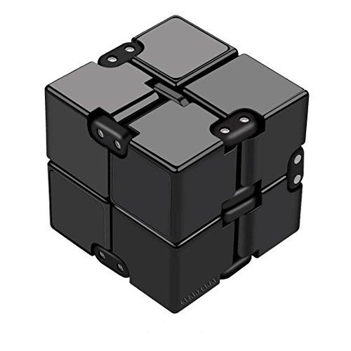 Cube Infini Anti stress - Enfants | Adultes - ADD, TDAH, Autisme, arrêter de fumer - Jouet | Gadget - Marque FR : Gearzoraf - Garantie satisfaction - Restez concentrez : Au bureau, à la maison, dans les transports - Couleur : No