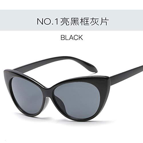 Passionate turkey Kleine Schwarze weiße billige Sonnenbrille oculos de sol des leidenschaftlichen Truthahngroßen Katzenaugendreiecks netten sexy Retro Sonnenbrille-Frauendesigners, c1