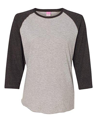 Lat prendas de vestir para mujer Vintage Fine Jersey camiseta de béisbol